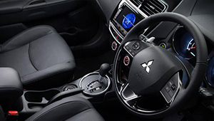 ASX XB Up to the minute interior