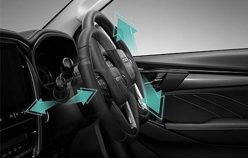 Tilt & Telescopic Steering Wheel Image