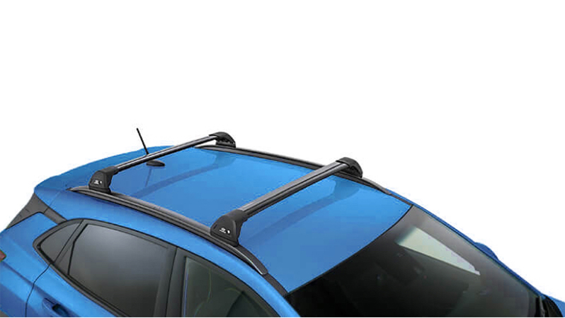Hyundai genuine roof racks-flush.