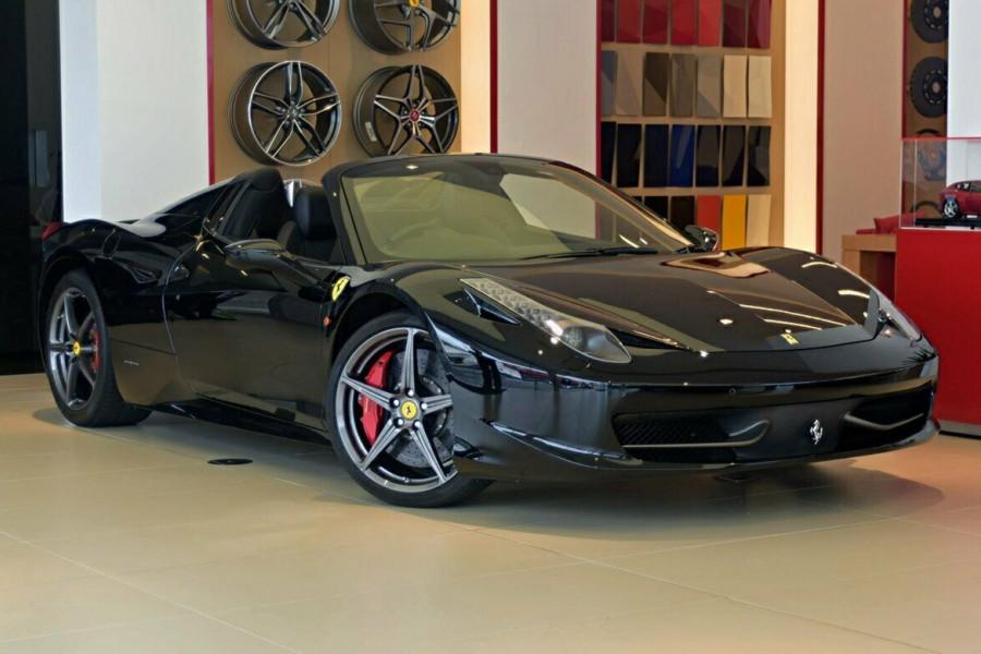 2012 Ferrari 458 Spider F142 F142 Convertible Mobile Image 1