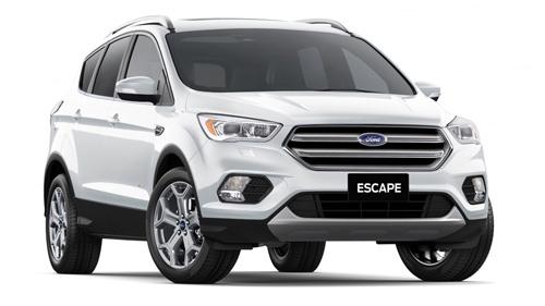 2018 MY18.75 Ford Escape ZG Titanium AWD Wagon