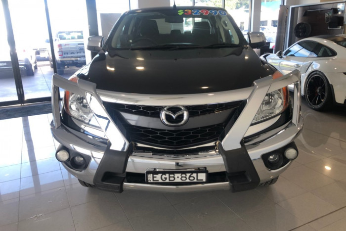 2012 Mazda BT-50 UP0YF1 XTR Utility