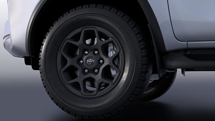 """17"""" Alloy Wheels – Black"""