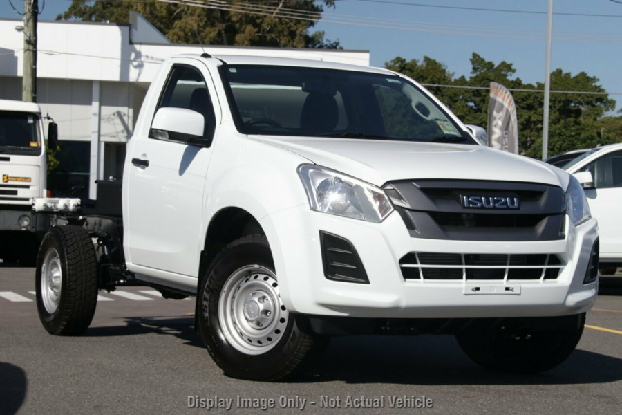 2019 Isuzu UTE D-MAX IO SX Single Cab Chassis High-Ride 4x2 Cab chassis