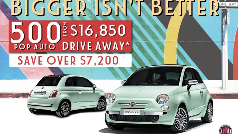 Bigger isn't Better – Fiat 500