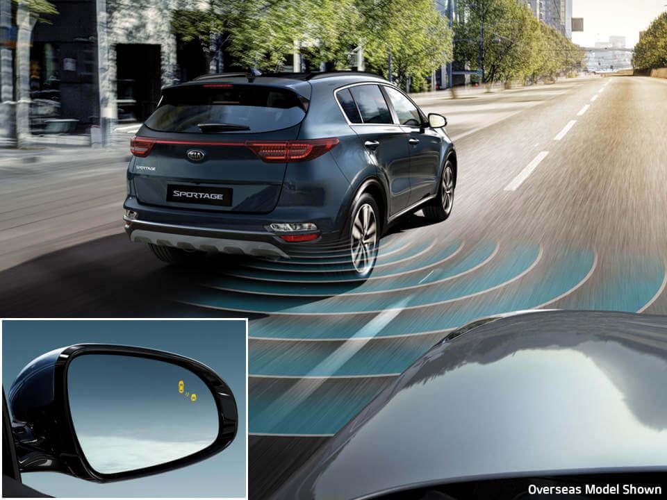 Blind Spot Detection (BSD) & Lane Change Assist (LCA) Image