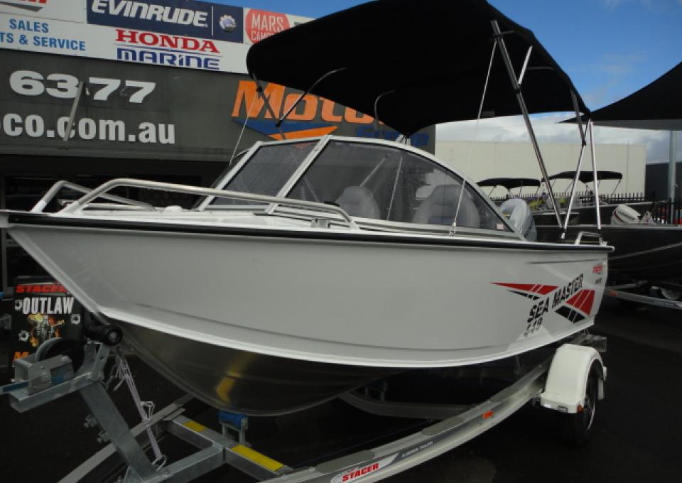 0000 Stacer Seamaster Boat