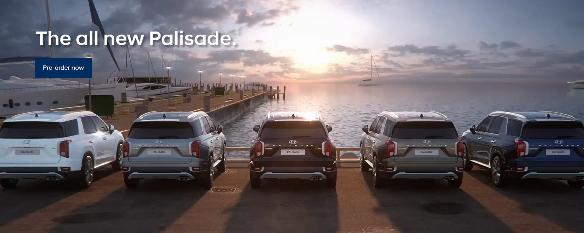 The all new Palisade. Pre-order now.