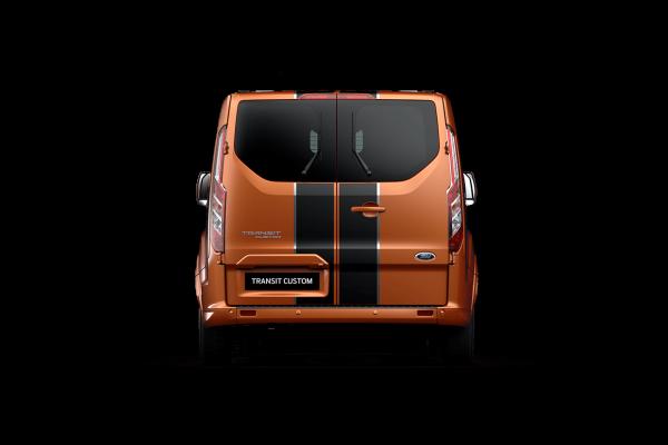 2021 MY20.5 Ford Transit VN Custom Sport 320L DCiV Utility Image 4