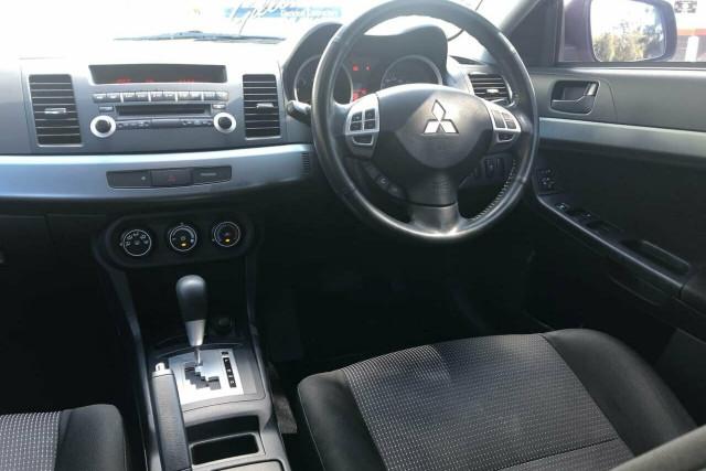 2011 Mitsubishi Lancer CJ MY11 SX Sportback Hatchback