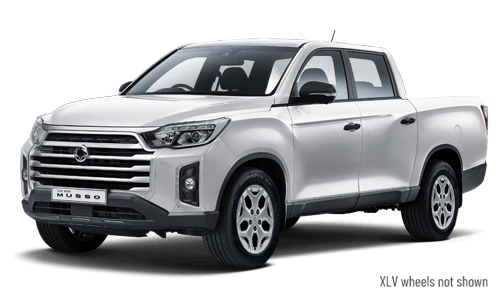 2021 SsangYong Musso Q215 ELX Double cab