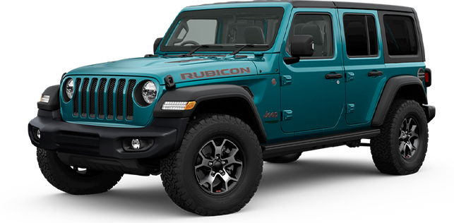 2020 MY0  Jeep Wrangler JL Rubicon Unlimited Suv