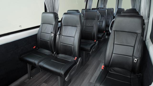 Daily Minibus COMFORT AND ERGONOMICS