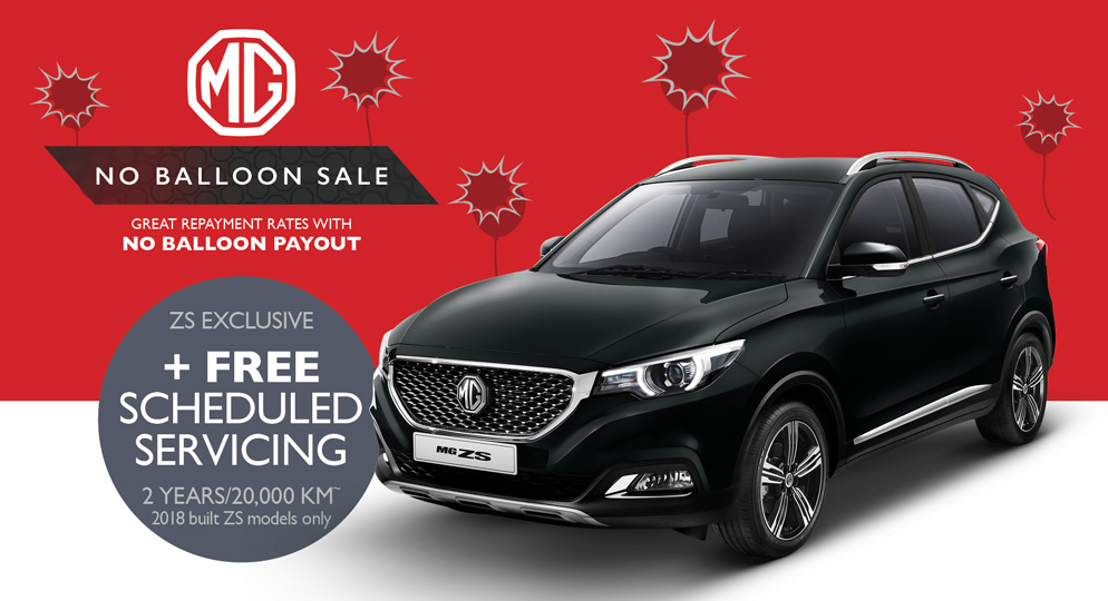 MG ZS Excite 1.5L special