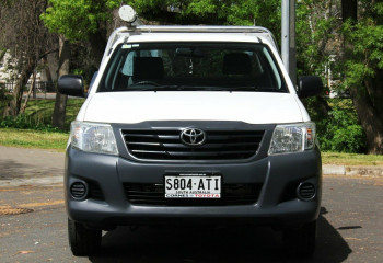 2012 Toyota Hilux TGN16R MY12 Workmate 4x2 Cab chassis