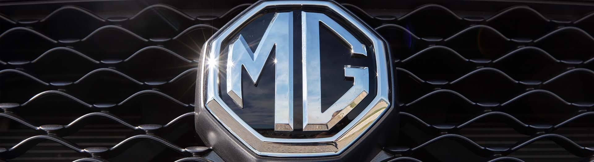 MG MG3 front badge