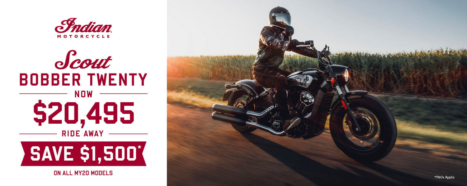 Scout Bobber Twenty - Save $1,500