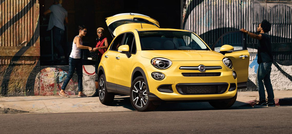 Fiat 500X MY18 Coming Soon