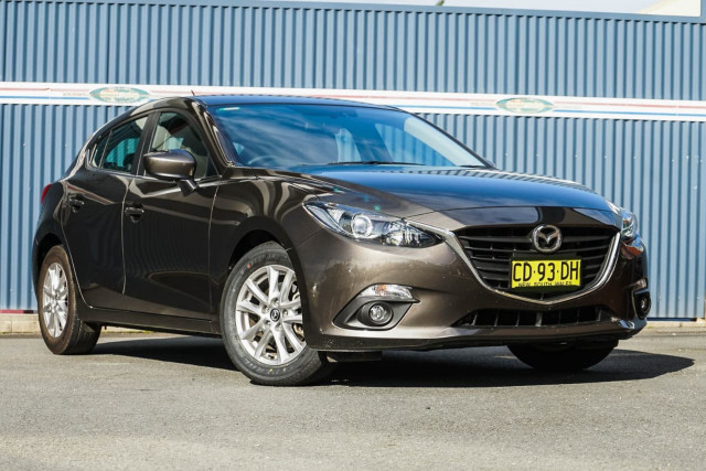 2015 Mazda 3 BM Series Touring Hatchback