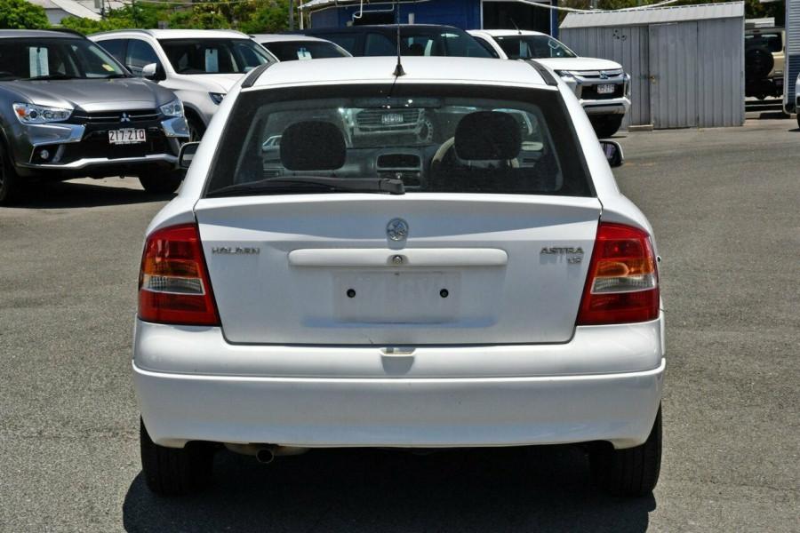 2002 Holden Astra TS City Hatchback