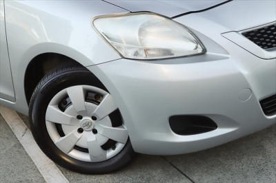 2012 Toyota Yaris NCP93R MY11 YRS Sedan Image 2