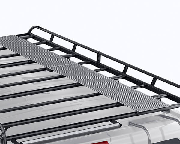 Steel Walkaway - Short Wheel Base with Barn Doors