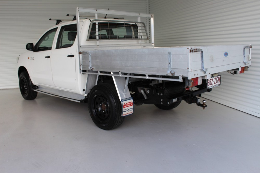 2013 MY12 Toyota HiLux KUN26R MY12 WORKMATE Cab chassis Image 6
