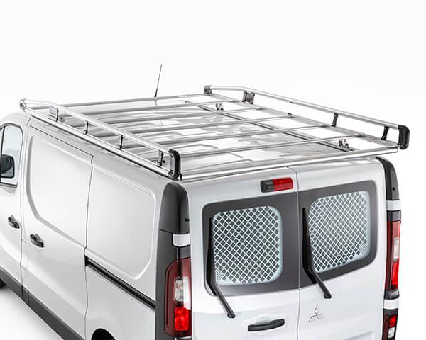 Aluminium roof rack with roller - Short Wheel Base