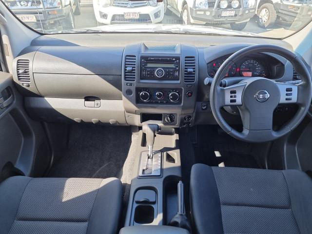 2014 Nissan Navara D40 Series 9 Silverline SE Utility Image 12