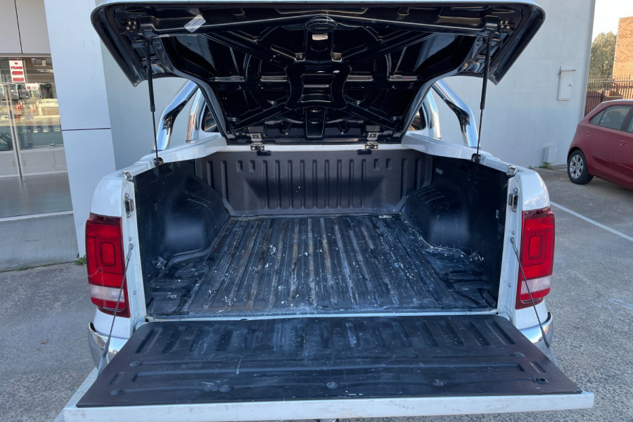2018 Volkswagen Amarok 2H  TDI550 Sportline Utility Image 19