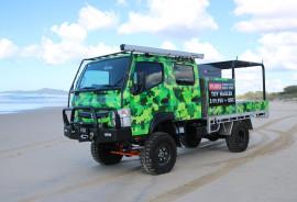2020 Fuso Canter TOY HAULER + INSTANT ASSET WRITE OFF 4X4 CREW CAB 515 TOY HAULER Crew cab