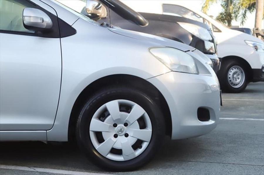 2012 Toyota Yaris NCP93R MY11 YRS Sedan Image 6