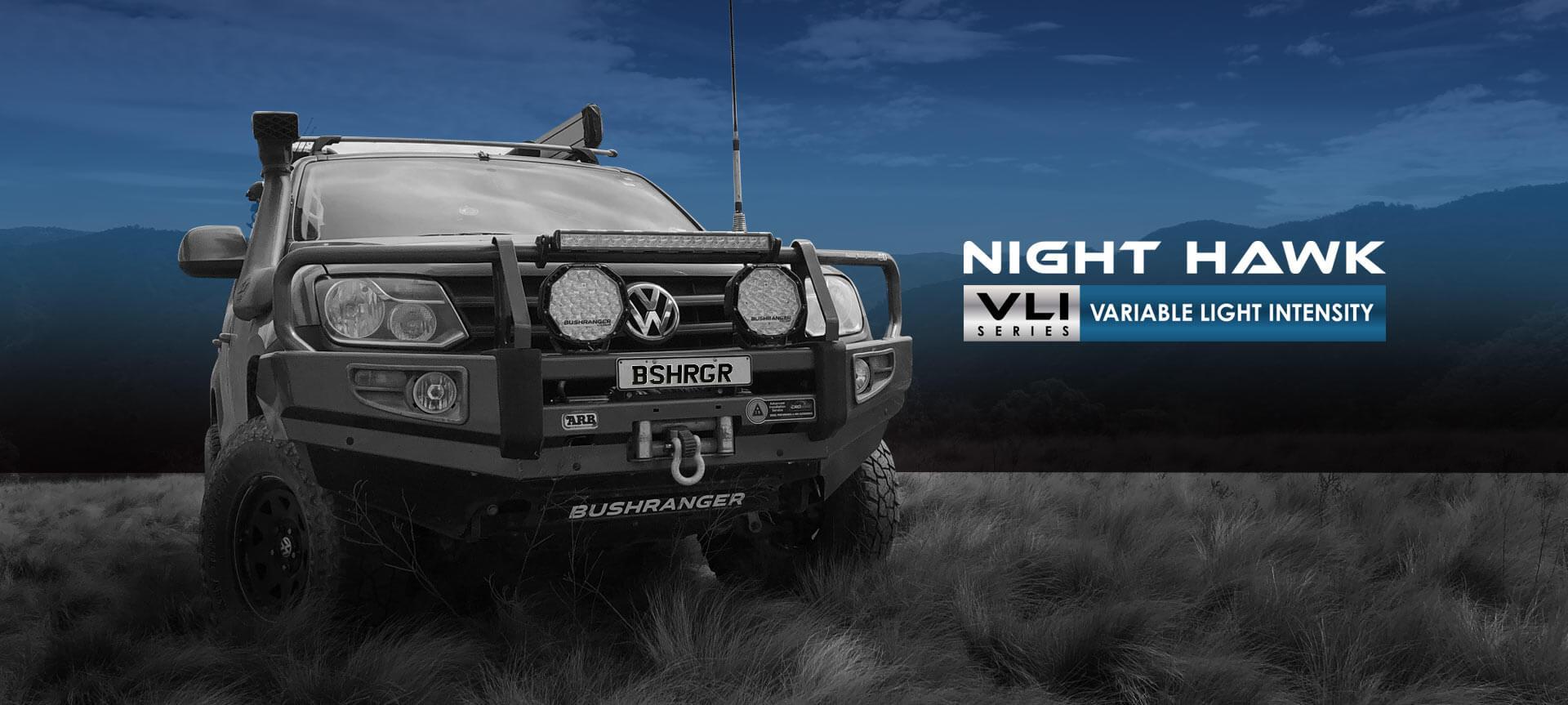 Bushranger Night Hawk Driving Lights