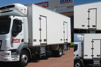 First production of our new state-of-the-art EURO bodies from the Perth assembly site
