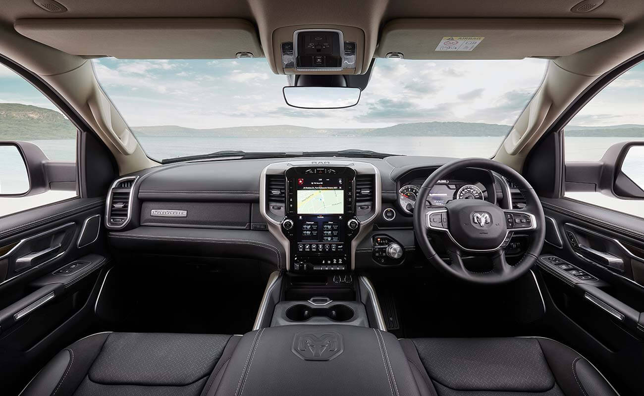 1500 Laramie V8 Hemi BEST-IN CLASS CAB SPACE IS JUST THE BEGINNING