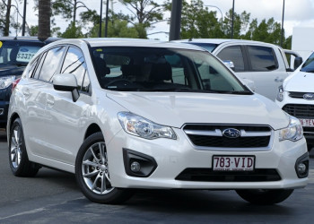 Subaru Impreza 2.0i Lineartronic AWD Luxury G4 MY14