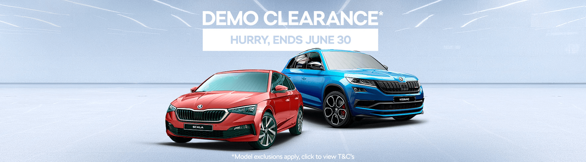 Demo Clearance - Hurry, ends June 30