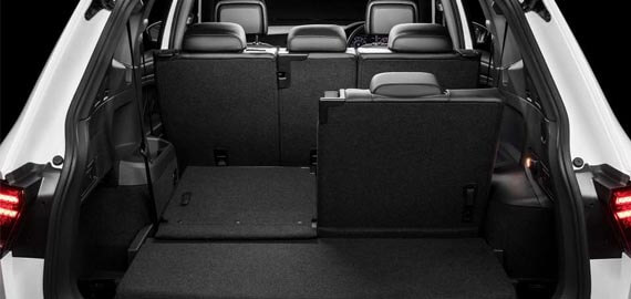 Tiguan Allspace Luggage Capacity