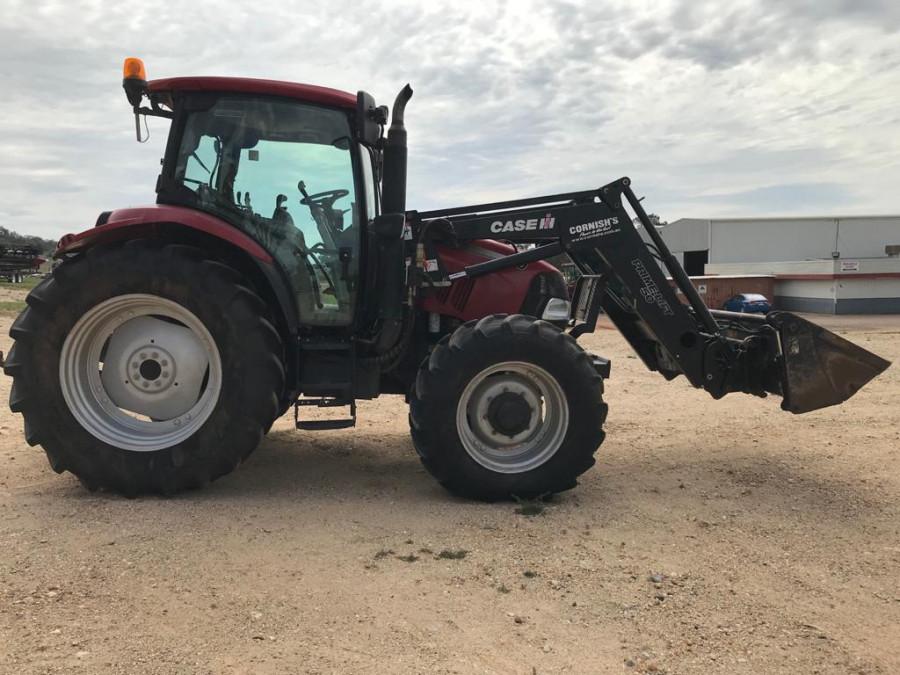 2011 Case IH MAX110 Tractor crawler Image 2