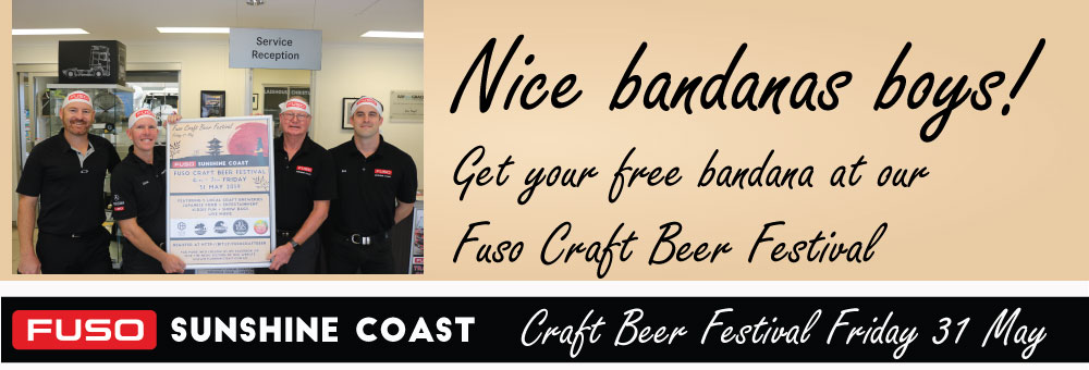 MEDIA RELEASE | FUSO CRAFT BEER FESTIVAL