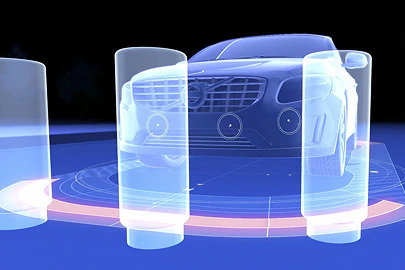Park assist, rear and front Image