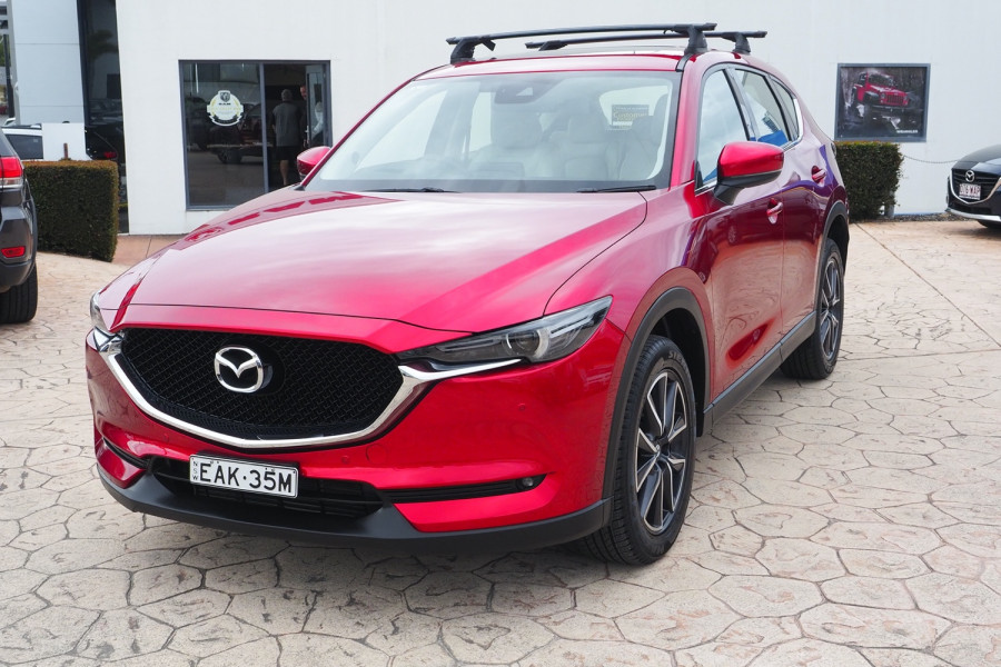 2017 Mazda CX-5 KF4W2A GT Suv