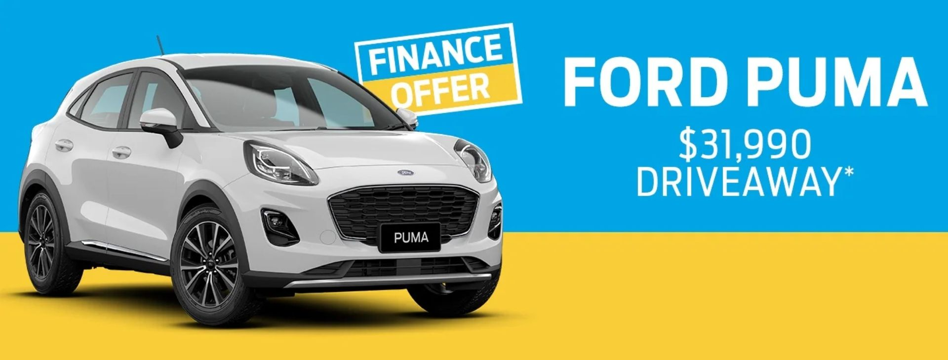 Ford Puma Finance Offer