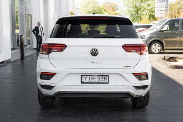 2021 Volkswagen T-ROC 140TSI Sport 2.0L T/P AWD 7Spd DSG Wagon Image 5