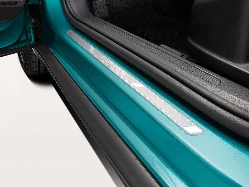 Door sill protection plate