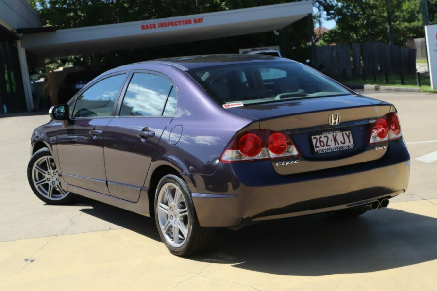 2007 Honda Civic 8th Gen MY07 Sport Sedan