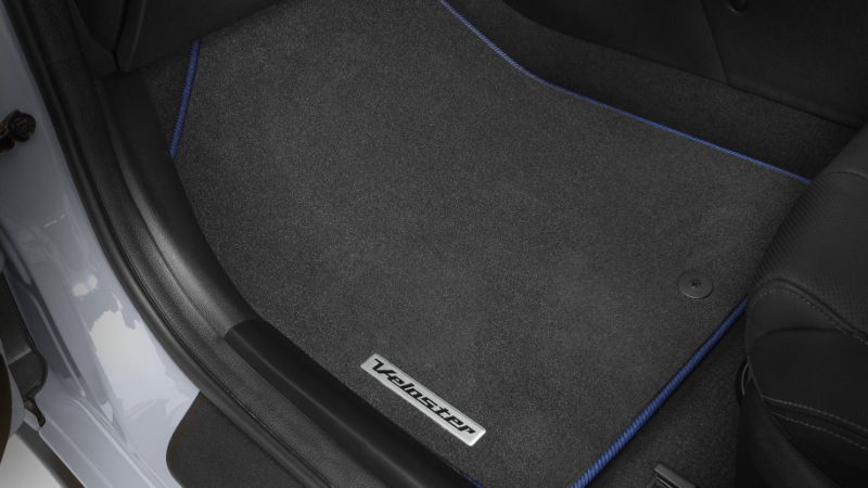 Tailored carpet floor mats -blue