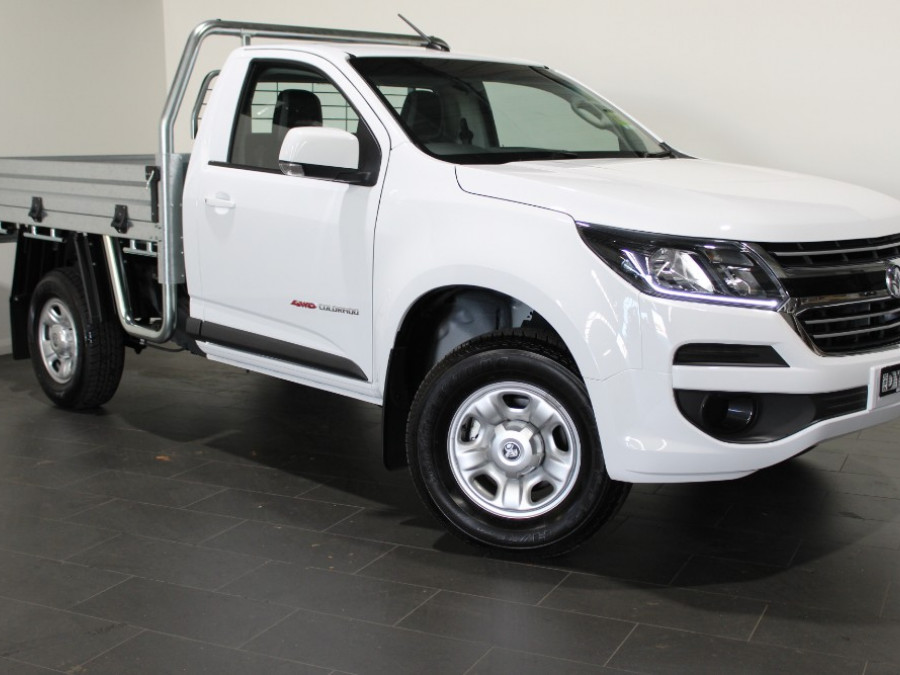 2018 MY19 Holden Colorado RG 4x4 Crew Cab Chassis LS Cab chassis