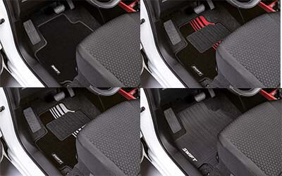 Floor Mats - Set of 4