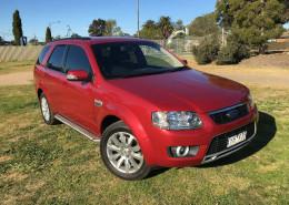 Ford Territory GHIA (4X4) SY MKII